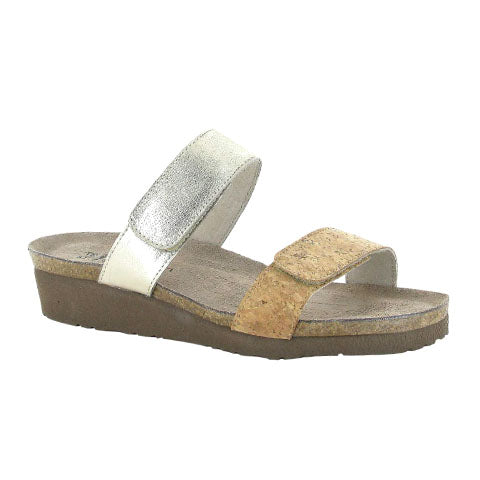 Naot Althea - Cork Leather Sandals|Slide Sandals - The Heel Shoe Fitters