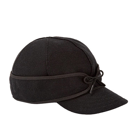 Stormer Kromer Original Cap - Black Outerwear|Headwear|Brimmed Hat - The Heel Shoe Fitters
