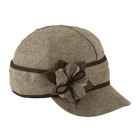 Stormy Kromer Petal Pusher Cap - Cobblestone Outerwear|Headwear|Brimmed Hat - The Heel Shoe Fitters