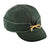 Stormy Kromer Original Benchwarmer Hat - Green/Gold Outerwear|Headwear|Brimmed Hat - The Heel Shoe Fitters