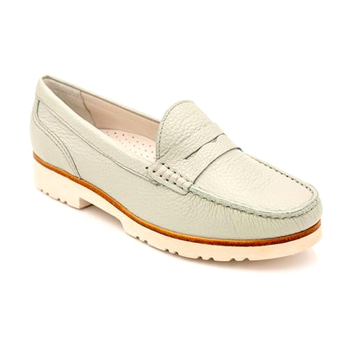 Wirth Cayenne - Aqua Grey Dress/Casual|Loafers - The Heel Shoe Fitters