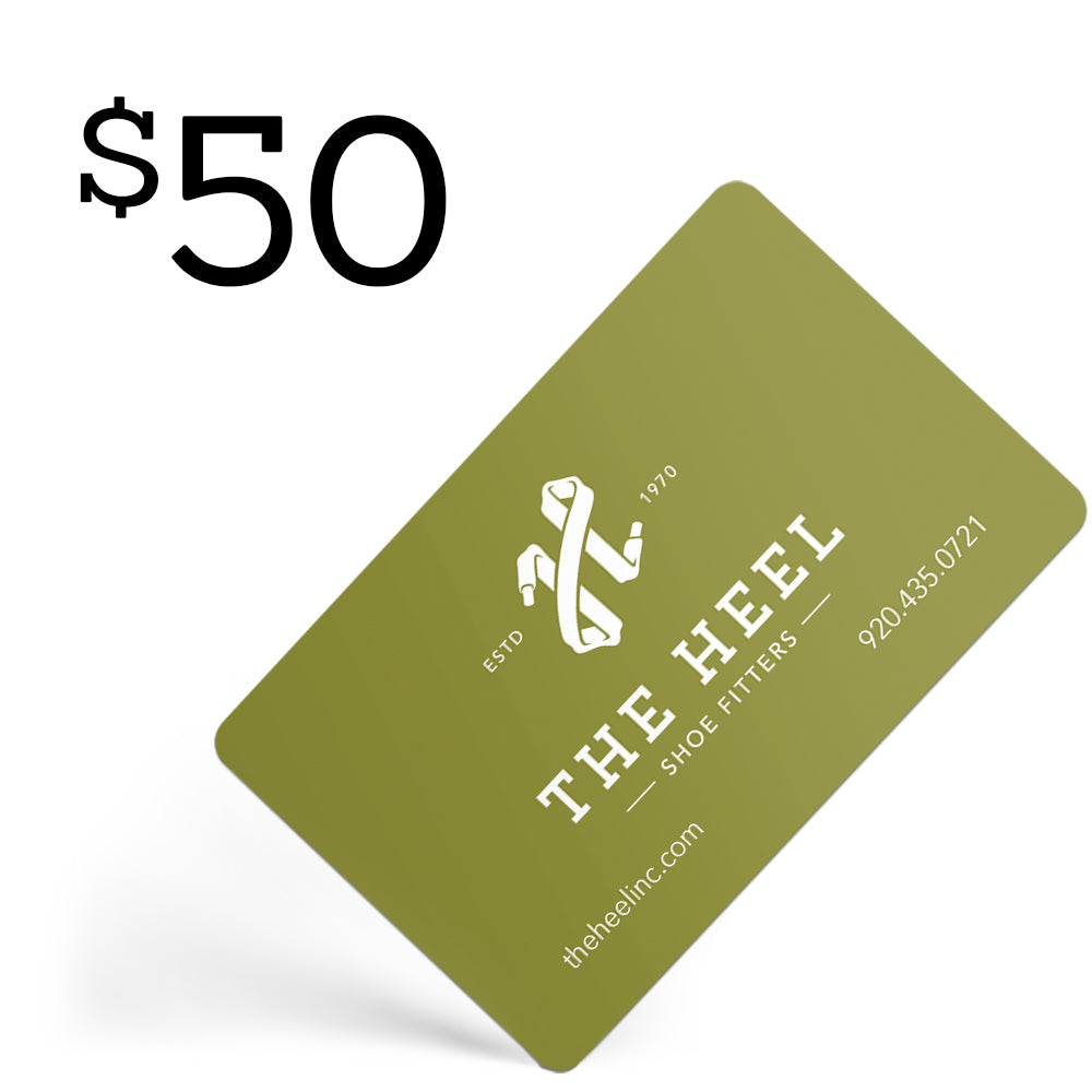 $50 Gift Card  - The Heel Shoe Fitters