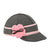 Stormy Kromer Lil' Petal Pusher Hat - Charcoal/Pink Outerwear|Headwear|Brimmed Hat - The Heel Shoe Fitters