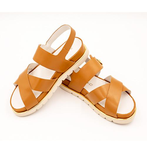 Wirth Burgos - Tan Sandals|Backstrap Sandals - The Heel Shoe Fitters