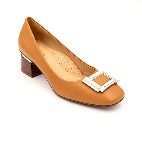 Wirth Atalanta - Tan Dress/Casual|Heels - The Heel Shoe Fitters