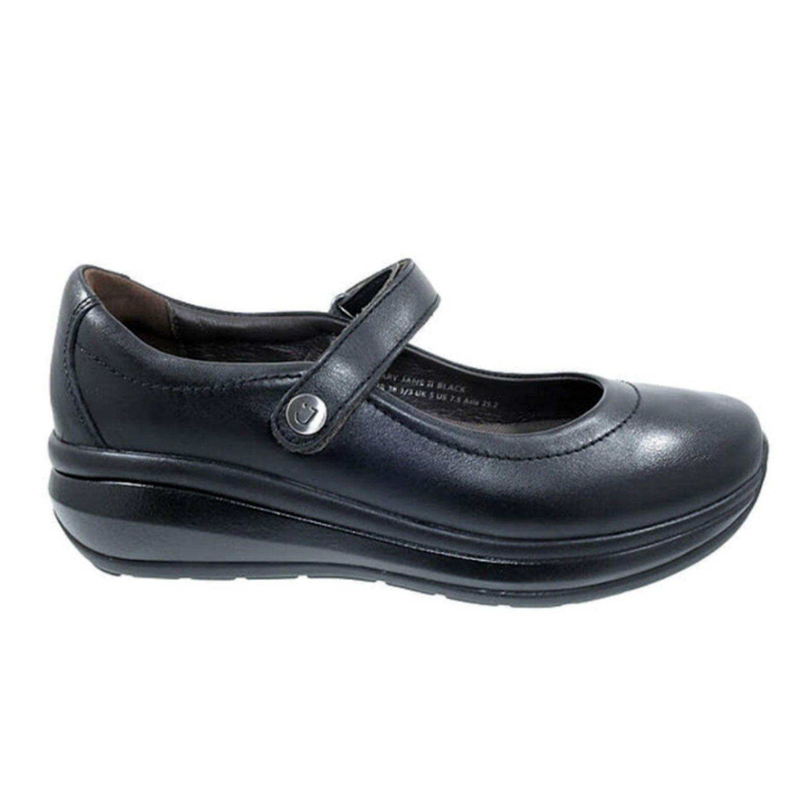 Joya Mary Jane II (Women) - Black Dress/Casual|Lace Ups - The Heel Shoe Fitters