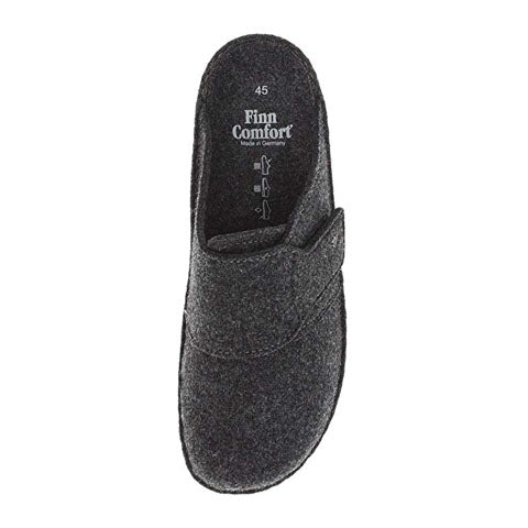 Finn Comfort Tirol Clog (Unisex) - Grey Dress/Casual|Clogs & Mules - The Heel Shoe Fitters