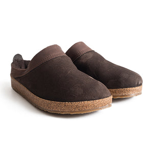 Haflinger Snowbird (Unisex) - Chestnut Dress/Casual|Clogs & Mules - The Heel Shoe Fitters