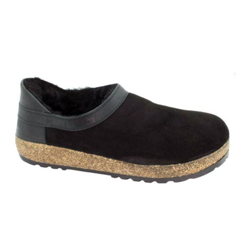 Haflinger Siberia (Unisex) - Black Dress/Casual|Slippers - The Heel Shoe Fitters