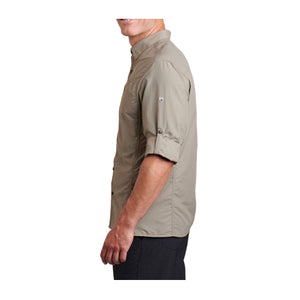 Kuhl Reflectr LS (Men) - Taupe Outerwear|Jacket|Casual Jacket - The Heel Shoe Fitters