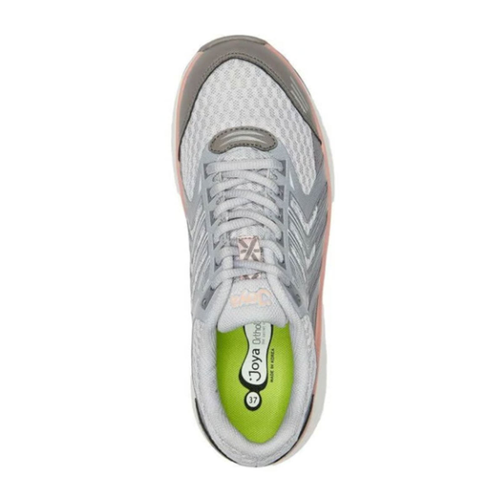 Joya Electra (Women) - Light Grey Athletic|Walking - The Heel Shoe Fitters