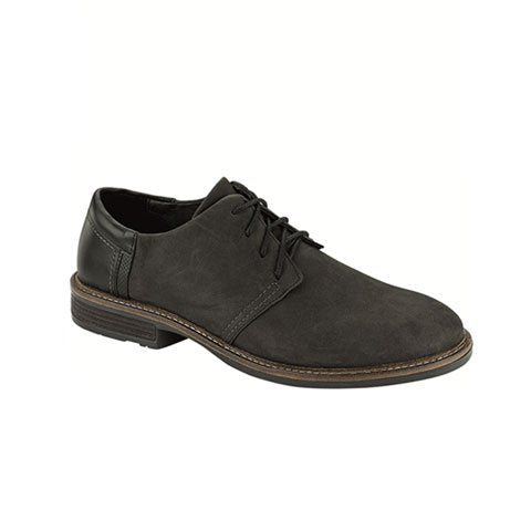 Naot Chief (Men) - Grey Suede Dress/Casual|Derby Shoes - The Heel Shoe Fitters