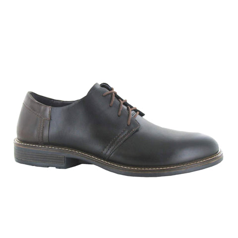 Naot Chief (Men) - Black Raven Dress/Casual|Derby Shoes - The Heel Shoe Fitters