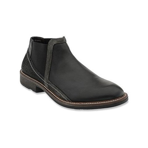 Naot Business (Men) - Black/Grey Combo Boots|Fashion - Ankle Boot - The Heel Shoe Fitters