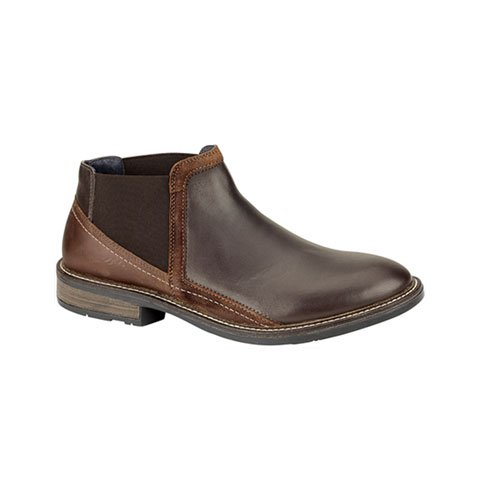 Naot Business (Men) - Roast Brown/Seal Boots|Fashion - Ankle Boot - The Heel Shoe Fitters