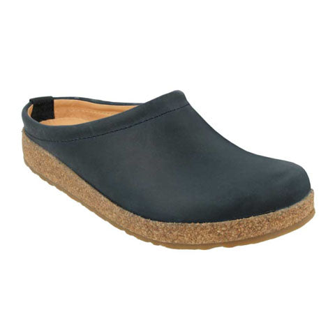 Haflinger Phillip - Black Dress/Casual|Clogs & Mules - The Heel Shoe Fitters