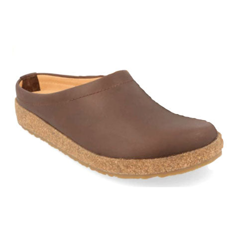 Haflinger Phillip (Unisex) - Smokey Brown Dress/Casual|Clogs & Mules - The Heel Shoe Fitters
