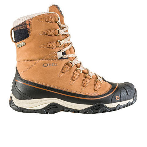 "Oboz Sapphire 8"" Insulated B-DRY (Women) - Tan Boots