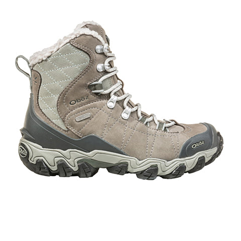 "Oboz Bridger 7"" Insulated B-DRY (Women) - Gray Sage Boots