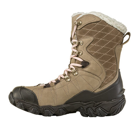 "Oboz Bridger 9"" Insulated B-DRY (Women) - Brindle Boots