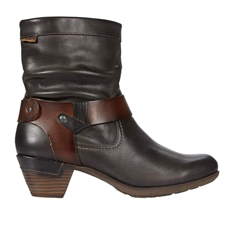 Pikolinos Rotterdam 902-8890VG (Women) Lead Boots|Fashion-Mid Boot - The Heel Shoe Fitters
