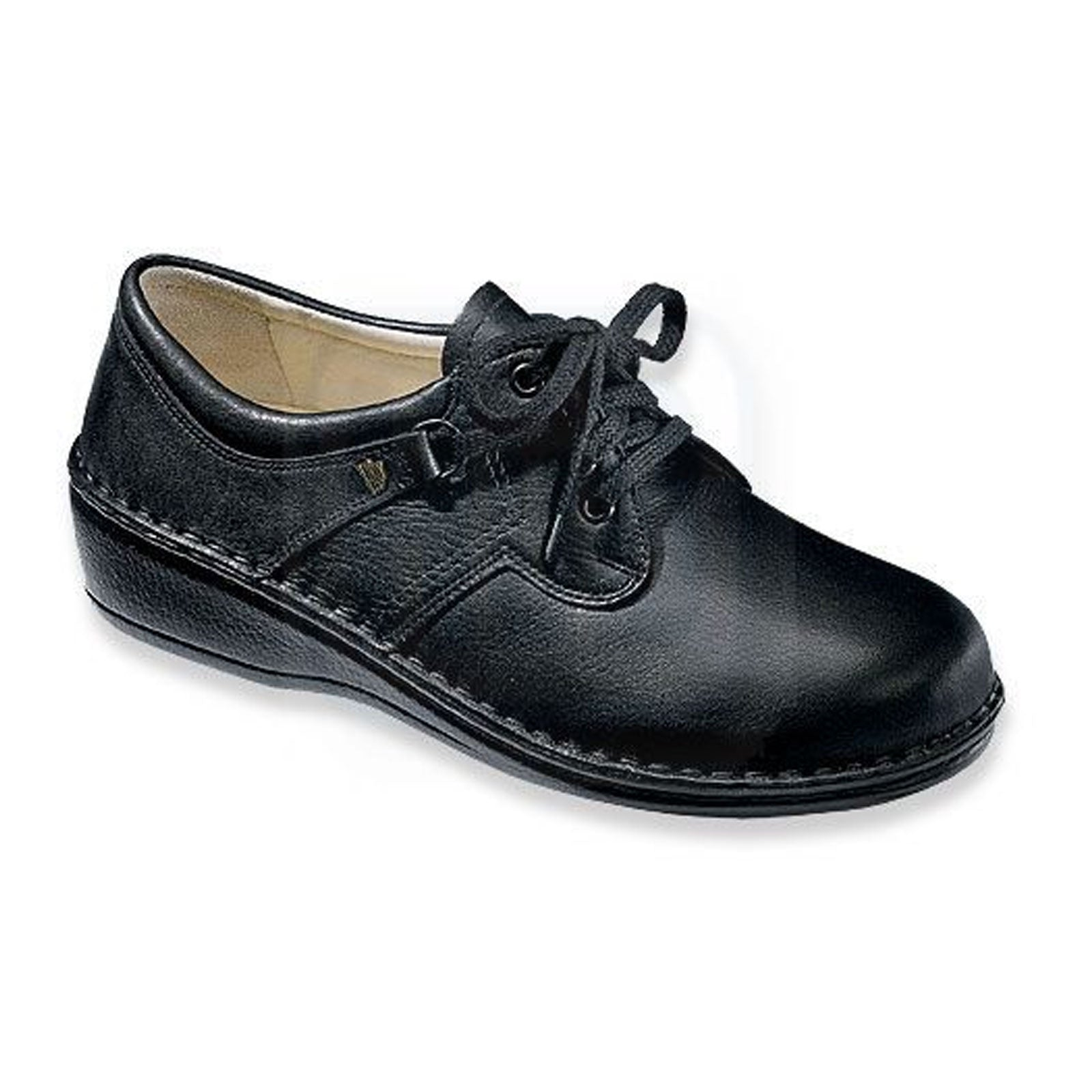 Finn Comfort Soft Prevention (Unisex) - Black Dress/Casual|Lace Ups - The Heel Shoe Fitters