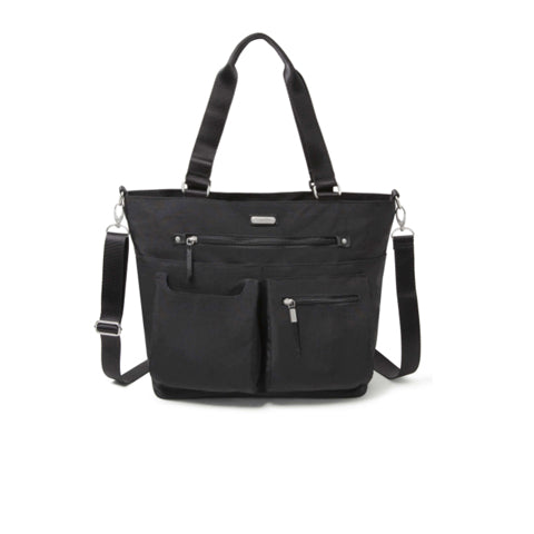 Baggallini Any Day Tote with RFID Phone Wristlet - Black