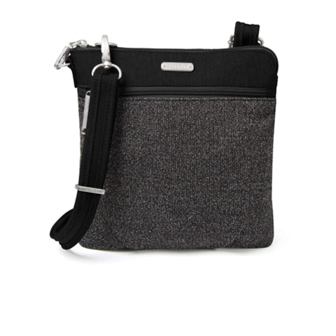 Baggallini Anti-theft Slim Crossbody - Black