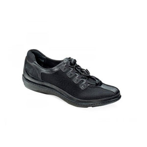 Aetrex Crystal Bungee Oxford (Women) - Blackberry Dress/Casual|Oxfords - The Heel Shoe Fitters
