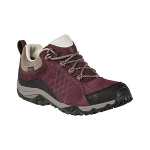 Oboz Sapphire Low B-DRY (Women) - Boysenberry Boots|Hiking - Low - The Heel Shoe Fitters