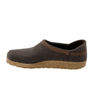Haflinger GZH 42 (Unisex) - Smokey Brown Dress/Casual|Clogs & Mules - The Heel Shoe Fitters