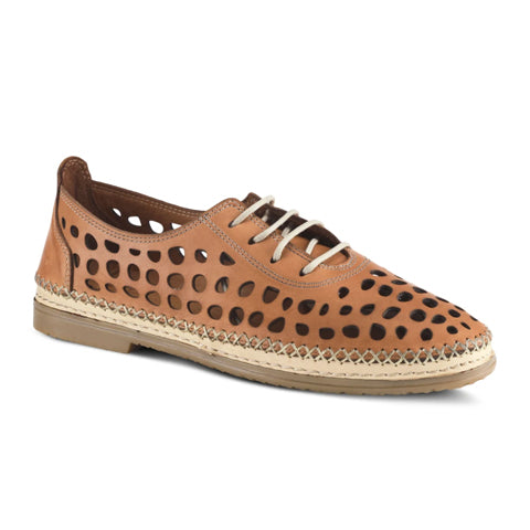 Spring Step Bernetta (Women) - Camel Dress/Casual|Lace Ups - The Heel Shoe Fitters