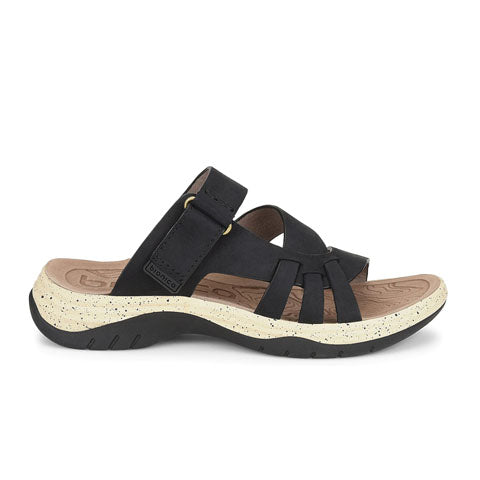 Bionica Nerice (Women) - Black Sandals|Active Sandals - The Heel Shoe Fitters