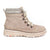 Born Orlene (Women) - Taupe Fabric Boots|Fashion - Ankle Boot - The Heel Shoe Fitters