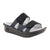 Alegria Camille (Women) - Tile Me More Black Sandals|Slide Sandals - The Heel Shoe Fitters