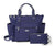 Baggallini 3-in-1 Convertible Backpack - Navy