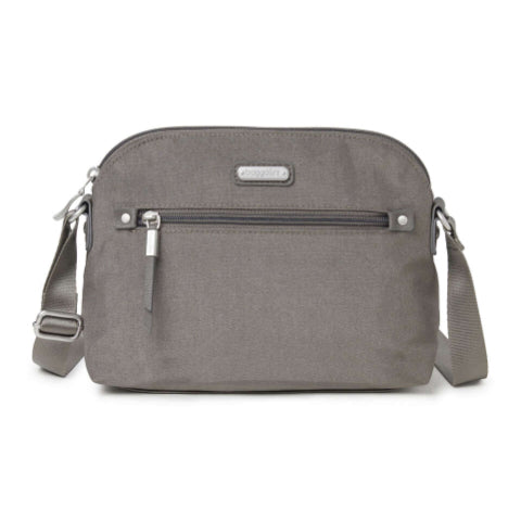 Baggallini Dome Crossbody - Sterling Shimmer