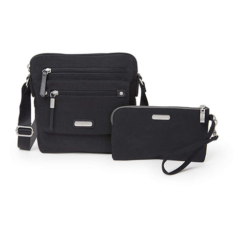 Baggallini Escape Crossbody - Black
