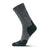 Fits Light Hiker Crew (Unisex) - Coal Socks|Perf - Crew - The Heel Shoe Fitters