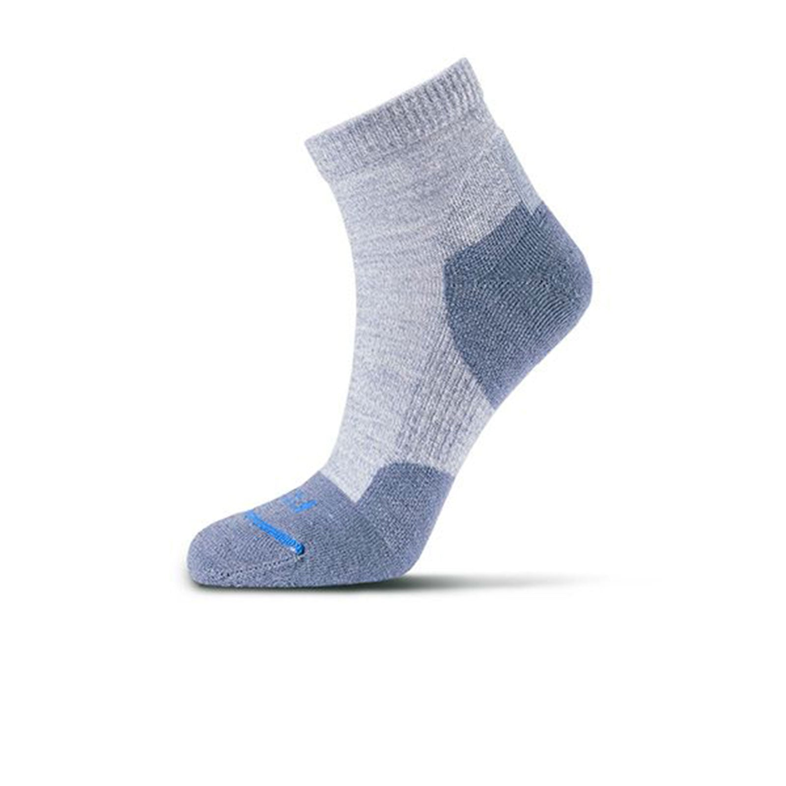 Fits Light Hiker Quarter (Women) - Ocean Socks - Perf - Mid Crew - The Heel Shoe Fitters
