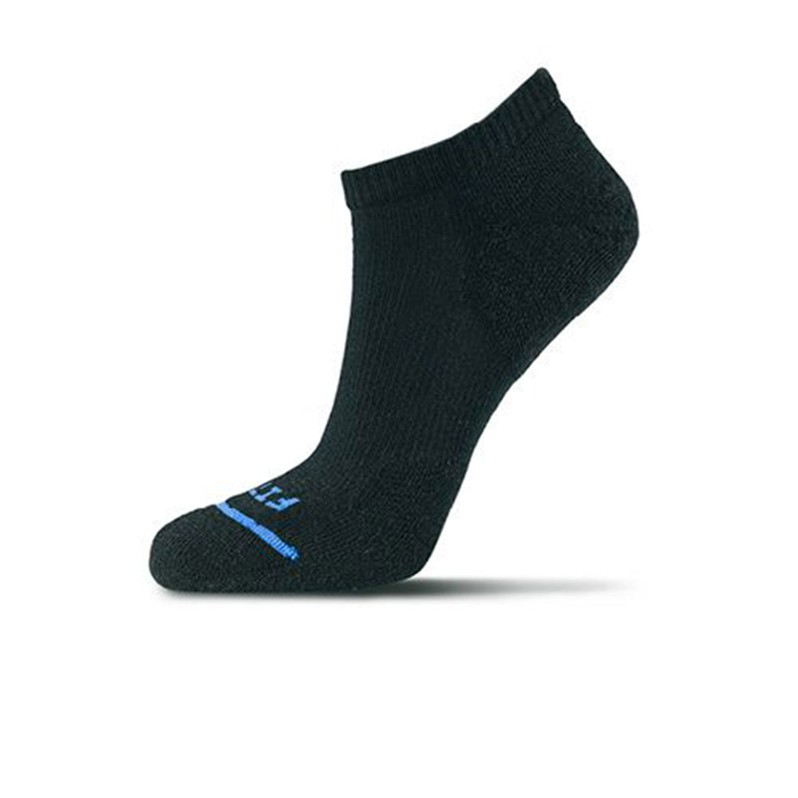 Fits Light Runner Low (Men) - Black Socks - Perf - Micro - The Heel Shoe Fitters