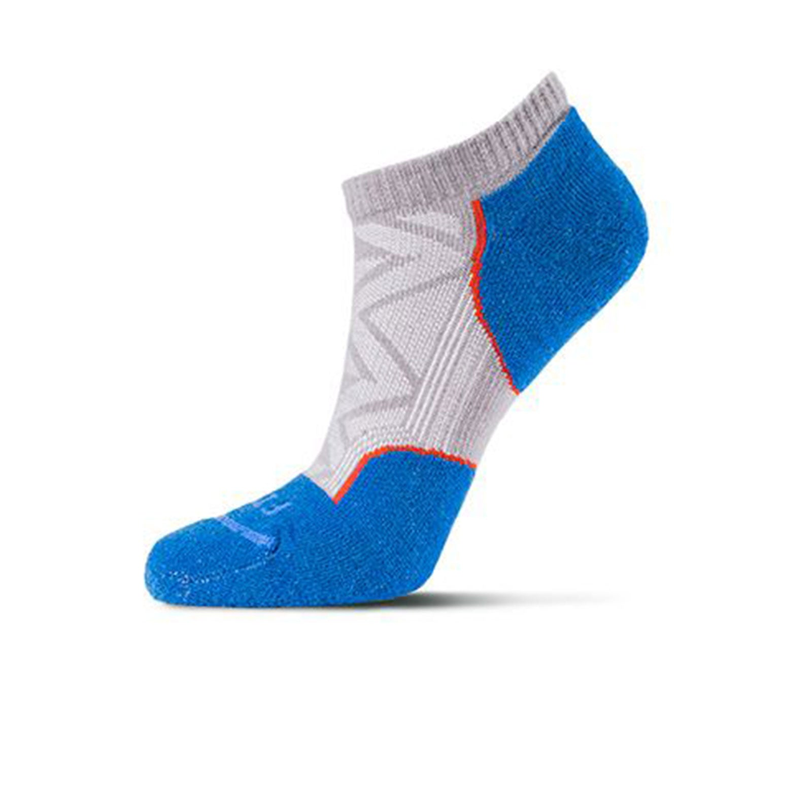 Fits Light Runner Low (Unisex) - Titanium Socks|Perf - Low Cut - The Heel Shoe Fitters
