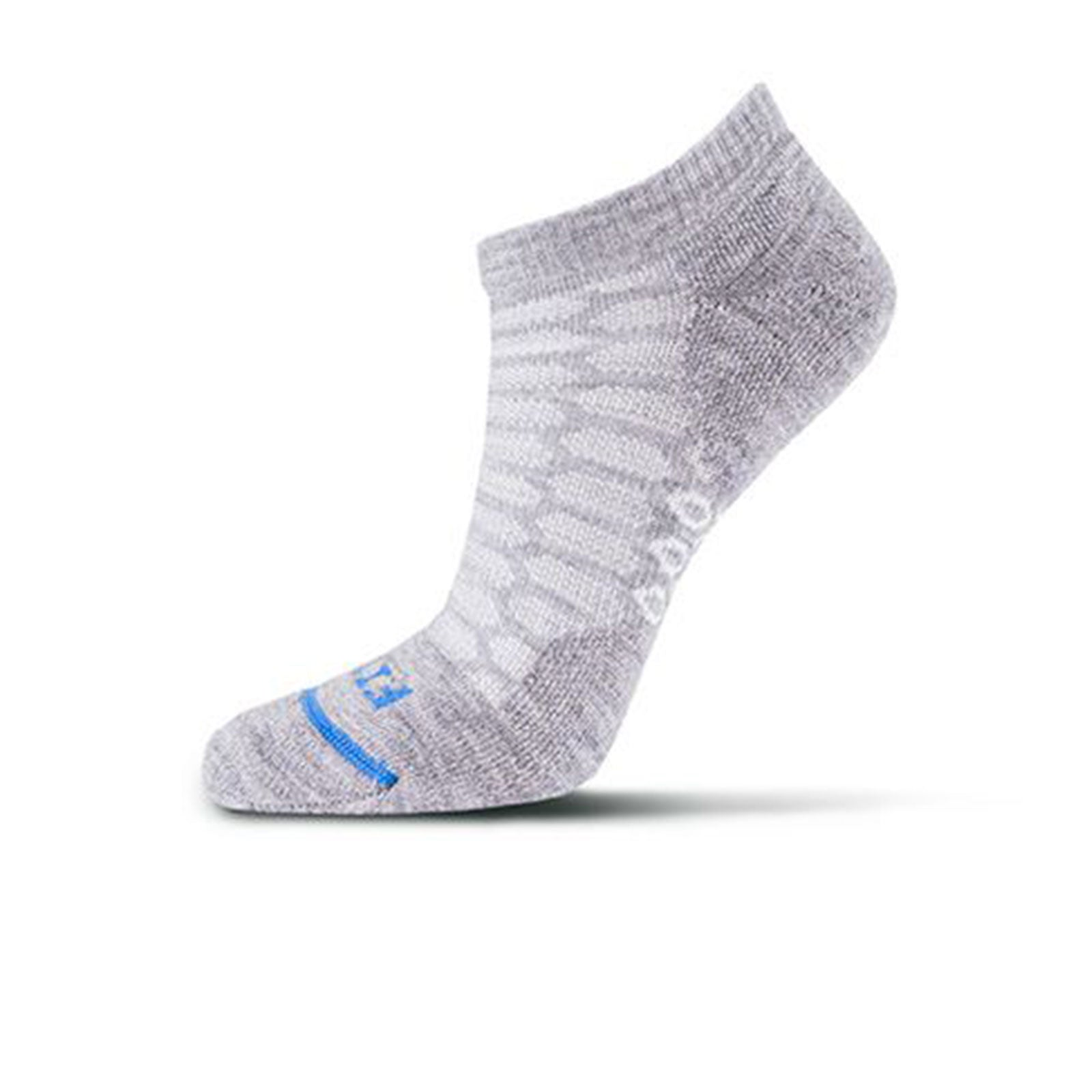 Fits Light Runner Low (Women) - Light Grey Socks - Life - No Show - The Heel Shoe Fitters