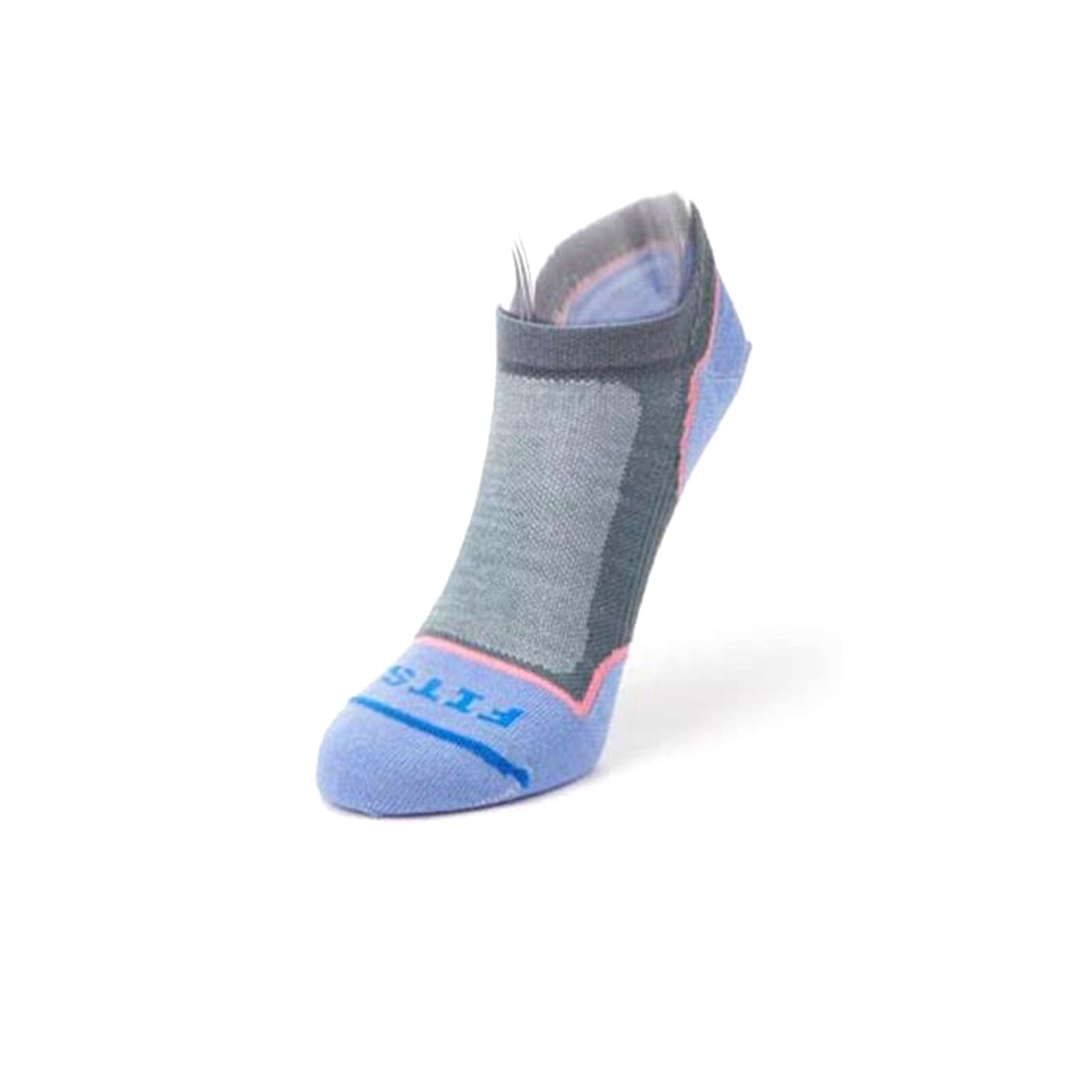 Fits Ultra Light Runner No Show (Women) - Stormy Weather Socks - Life - No Show - The Heel Shoe Fitters