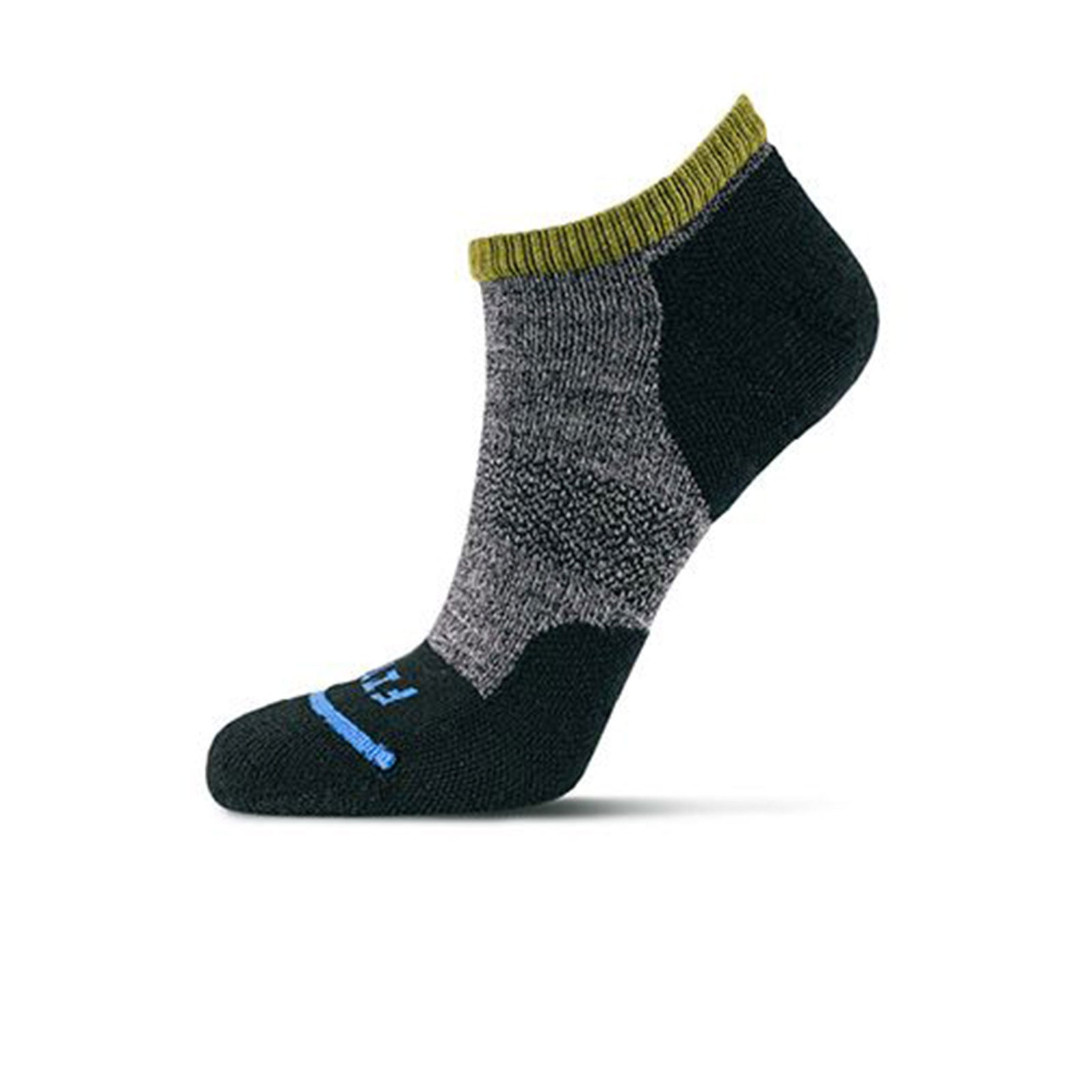 Fits Micro Light Runner Low (Unisex) - Coal Socks - Life - No Show - The Heel Shoe Fitters
