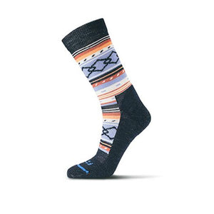 Fits Casual Crew (Women) - Navy/Serenity Socks|Life - Crew - The Heel Shoe Fitters