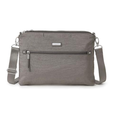 Baggallini Five Blocks Crossbody - Sterling Shimmer