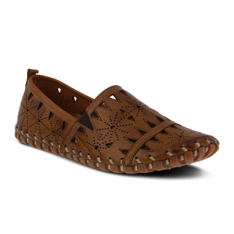 Spring Step Fusaro (Women) - Brown Dress/Casual|Flats - The Heel Shoe Fitters