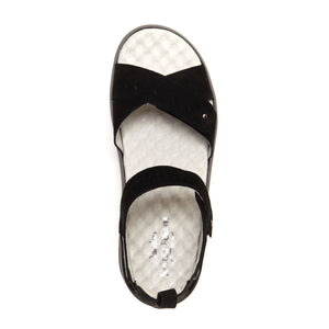 Jambu Sedona (Women) - Black Sandals - Backstrap Sandals - The Heel Shoe Fitters