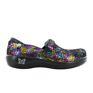 Alegria Keli Professional (Women) - Minnow Rainbow Dress/Casual|Clogs & Mules - The Heel Shoe Fitters
